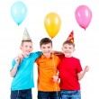 Boys with balloons — Stock Photo #53975287