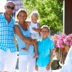 Family with three children — Stock Photo #55070419