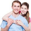 Young happy smiling couple. — Stock Photo #58975181