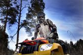 ATV biker — Stock Photo