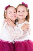 Happy twins — Stock Photo