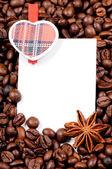Kahve çekirdekleri — Stok fotoğraf
