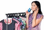 Alışveriş kadın — Stok fotoğraf