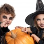 Child in halloween costume — Stock Photo #54245553