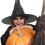 Child in halloween costume — Stock Photo #54245555