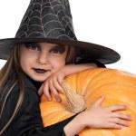 Child in halloween costume — Stock Photo #54245547