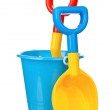 Toy bucket and spade — Stock Photo #54245745