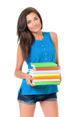 Chica estudiante — Foto de Stock