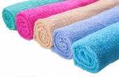 Color towel — Stock Photo