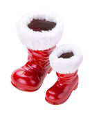 Santa boots — Stock Photo