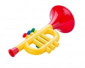Trompete-spielzeug — Stockfoto