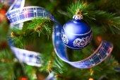 Weihnachtsfeier. — Stockfoto