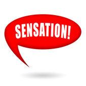 Sensation — Stock Photo