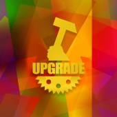 Upgrade — Stockfoto