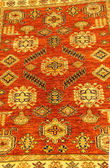 Details of hand woven carpets — Stock Photo