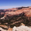 Panorama, fantasticly eroded red Navajo sandstone — Stock Photo #56500153