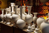 Greenware vases and pots — Stock Photo
