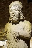 Statue of King Mutallu — Stock Photo