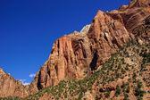 Steep mountain cliff  — Stock Photo