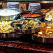 Buffet lunch in Turkish restaurant — Stock Photo #58118921