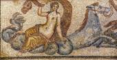Poseidon abducting Amphitrite — Stock Photo