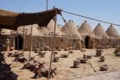 Bienenstock Wüste Häuser — Stockfoto