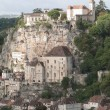 Buildings perched on limestone — Stock Photo #58838169