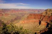 View into the Colorado River gorge — 图库照片