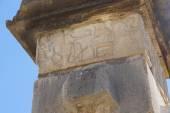 Detail, bas relief sculptures — Stock Photo