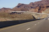 Deck arch bridge and highway  — Stock Photo