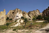Ancient Christian cave churches  — Foto Stock