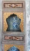 Elaborate decorations of the Harem — Stock Photo