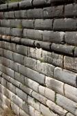 Ashlar wall — Stock Photo