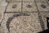 Pebbled mosaic path — Stock Photo