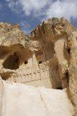 Antigua cueva Cristiano iglesias — Foto de Stock