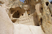 Ancient Christian cave churches — Stock Photo