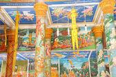 Scenes from Buddha's  at Wat Nokor — Fotografia Stock