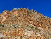 Rugged island mountain — Stock Photo