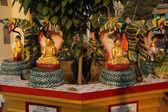 Buddha protected by naga — Stock Photo