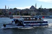 Small ferries  Sea of Marmara — Stock Photo