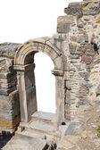 Doorway in ancient Roman ruins — Stock Photo
