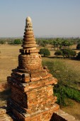 Ancient temples and stupas — Stock Photo
