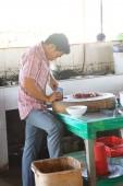 Cocinar chuletas chuletas de cerdo — Foto de Stock