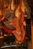 伝統的なカンボジアの人形 — ストック写真