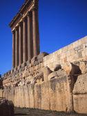 Corinthian Columns at Baalbek — Stock Photo