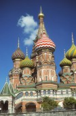 Onion domes of St. Basil's — Stock Photo