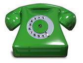 Green phone   — Stock Photo
