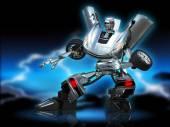 Robot transformer — Stock Photo