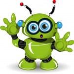 Surprised Robot — Stock Vector #61777219