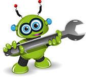 Robot for Repairs — Stockvektor